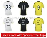14/15 Club Home Away 3rd  Futbol shirt Drop Shipiing
