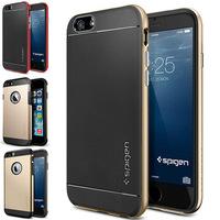 "modern 5.5"" spigen sgp durable slim armor for apple iphone 6 plus case Neo Hybrid phone cases With retail box 100pcs/lot DHL"