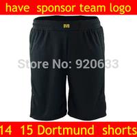 Borussia Dortmund shorts 14 15 new soccer shorts football short 2015 shorts futebol