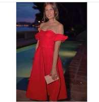 2014 slash neck evening dress ren and green party dress evening dress brand
