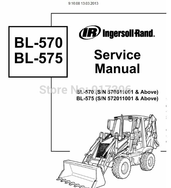 Bobcat Loaders Backhoes / Wheel Loaders Operation & Maintenance Manuals 5-2009(China (Mainland))