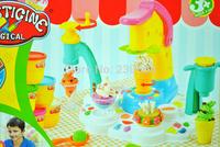 DIY Ice Cream Maker Colourful Clay Mold Environmental Protection Educational Toys DIY toys Creative Toys