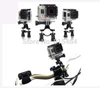 New arrival GoPro HD Hero 3+/3/2/1 bike accessories plastic handlebar seatpost pole mount arm,motorcycle go pro accessories