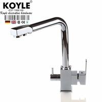 KOYLE - polished kitchen faucet torneira cozinha faucets mixers taps