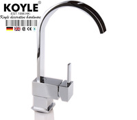 KOYLE - 360 degree rotating Chrome Brass Kitchen torneira para pia cozinha faucets mixers taps kitchen faucet sink accessories