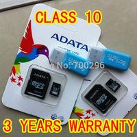 WG (3 years wannanty) Real Capacity 16GB 32GB 64GB class 10 micro sd card TF Memory card + Free reader + free shipping