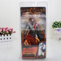 1pcs NECA GOD of WAR Kratos Flame version 7 inch retail
