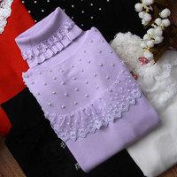 2014 new fashion high quanlityTurtleneck sweater short design cardigans tight basic shirt basics limbeach sweater women cheap