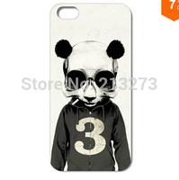 1PC Unique Cute Panda Hard Case Cover for iphone 4 4S 5 5S 5C 6 6PLUS