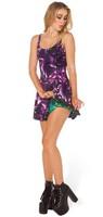 VOLFOUR 2014 New Arrival Black Milk Woman Fashion Dress Sexy Party Dress AMETHYST VS AURORA SKYE INSIDE OUT DRESS FREE SHIPPING