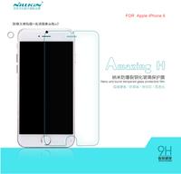 NILLKIN Amazing H glasses screen protectors for iphone 6 Toughened membrane bursting disk phone screen protector  edging