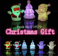 Holiday Festival Best Gift RGB Colorful LED Christmas Tree lights NightLight Christmas Decoration Night Light CE RoHS x 10pcs
