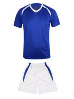 2880blueShort sleeve soccer uniform
