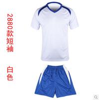 2880Short sleeve soccer uniform