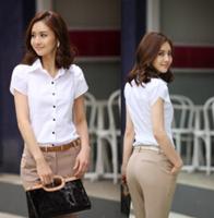 OL Chiffon Blouses Slim Ladies Blouse  Brand Office Lady Designers Plus Size Women Blouses Lace European Blouses Women cy01