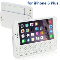 Pre Sale Wireless Bluetooth Keyboard Case For Apple iphone 6 Plus Slide Foldable Keyboard For iPhone Apple 6 Plus 5.5inch