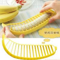 1 pcs Banana Slicer Tools Shredder Chopper Cutter for Fruit Salad Sundaes Cereal Kitchen Tool