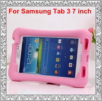 New Arrival Soft Silicon Kids Shockproof Back Cover Case For Samsung Galaxy Tab 3 7 inch P3200 P3210 T210 T211