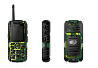 Outdoor Mobile Phones A8F Dustproof Shockproof Walkie Car Phone Quad Band Dual Sim Card free shipping
