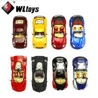 Wholesale Wltoys 1:43 alloy toy car modles  brand car model gift children toy car  high quality car  have led light 4pcs/lot