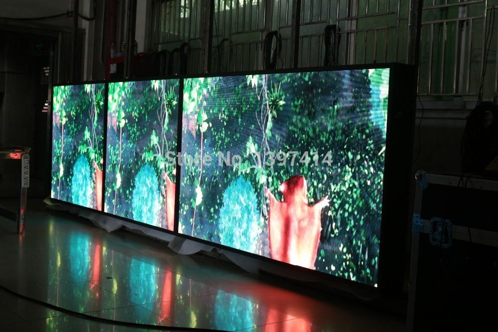 P3 led display module led screen led panel led wall 50pcs P3 Indoor led module + 6 power + 1 set controller(China (Mainland))