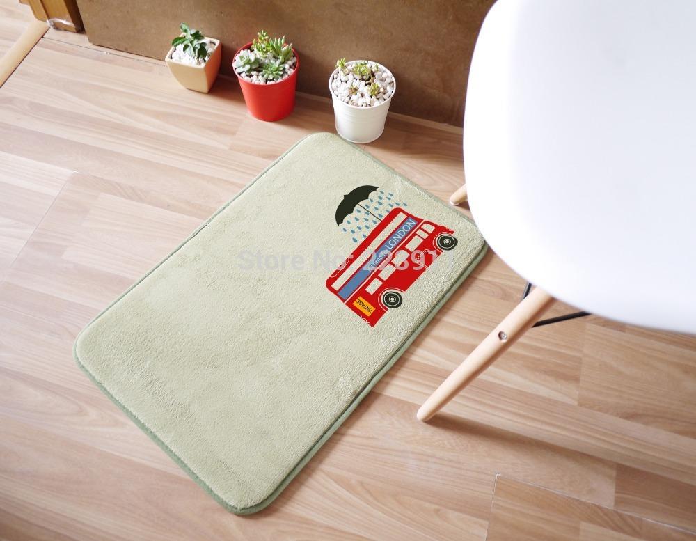 ... bedroom indoor outdoor coral velvet floor mat carpet welcome door mats