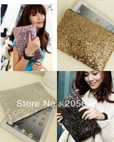 10pcs Fashion Sparking Bling Bling Paillette Sequin Handbag Evening Clutch Purse Cosmetic Bag 10colors Free Ship
