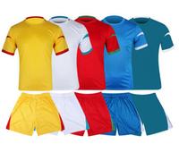 24111Short sleeve soccer uniform Multi-Colored