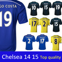 Chelsea jersey 2015 Soccer Jerseys top thailand quality football shirts home and away Jersey