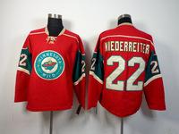 Minnesota Wild Jerseys #22 Nino Niederreiter Red Ice Hockey Jersey Wholesale In China