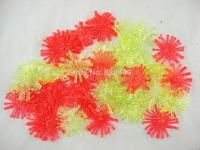 100pcs*5cm/2Inch Fishing Plastic Soft Lures Artificial  Silicone Sea Grass Baits ice fishing lure carp fishing lure