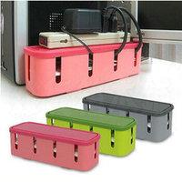 Rectangular Power Cord Socket Storage Box