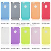 2014 Ultra Thin 2 In 1 TPU + PC Soft Smartphone Case For Iphone 6  4.7 Inch
