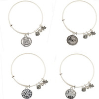 Fashion hot selling new style Silver alex and ani bracelets for women free shipping 140922