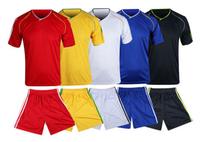 2454Short sleeve soccer uniform