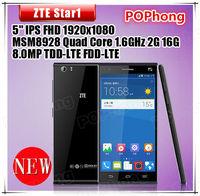 Original Star 1 4G LTE Qualcomm MSM8928 Quad Core Mobile Phone 5.0 inch 1920x1080P 2GB RAM 16GB ROM Dual Camera Back 8.0MP