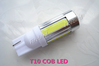 2 X T10/ W5W 7.5W COB led bulb, 12V car cold white clearance lights, parking lights, free shipping!