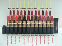 2014 brand  mc Makeup 3G Lipstick Retro matte lipstick make up charming 24 diff color+ english name 100% high quality