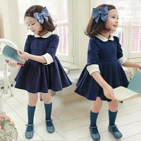 Fashion Children's Clothing Girls Dress Kids Clothes Wear Baby High Quality Cotton Autumn  Clothing Sets Kids Princess Dresses