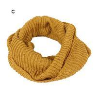 Wholesale Winter women yarn circle scarf neckwarmer infinity scarfs with bling thread .NL-2219
