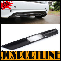 2010-2011 3K Twill Weaven Rear Bumper LIp, Carbon Fiber Diffuser For Mercedes-Benz Smart (Fit For Smart 10-11)