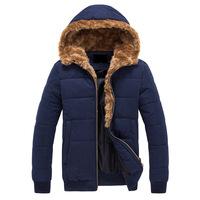 2014 new winter men's cotton hooded thick cotton men's cotton men's wholesale Korean fashion,Free Shipping