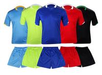 2455Short sleeve soccer uniform