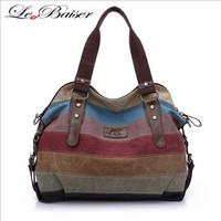 Fashion Canvas Bag Handbag Women's Handbag Women's Shoulder Bag Free Shipping W2041
