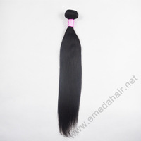 Grade 6A Unprocessed Malaysian Vrigin Hair Straight Hair Extension One Bundle 100g 8-30 inch Freeshipping