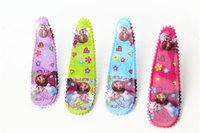NEW Arrival Fashion Brand Children Hair Clips Frozen Hair Accessories BB Clips Frozen Hairpins 120pcs Children Birthday Gifts