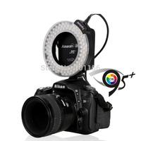 Wholesale Aputure HN100 CRI 95+ Amaran Halo LED Ring Flash light  For Nikon D7100 D7000 D5200 D5100 D800E D800 D700 D600 D90