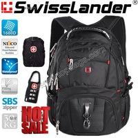 Brand SwissLander,Swiss 15.6 inch laptop backpack,computer backpacks,notebook shcool bagpack,Material 1680D,3 pcs free gifts