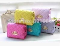 2014 New Women bag Children Princess Handbags crown  Girls' Messenger Bag  Lady Shoulder Bags