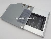 SATA 2nd hard drive HDD Caddy adapter For Dell Latitude D620 D630 D800 D810 D820 D830 Aluminium